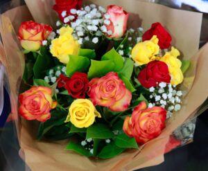 Smuk buket blomster